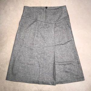 Talbots wool A-line skirt